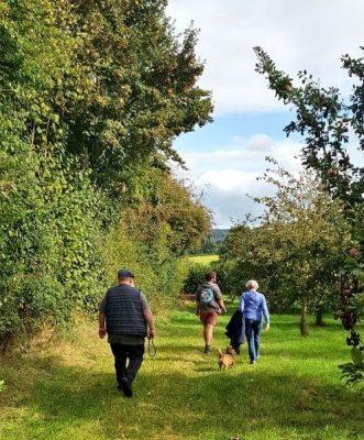 Walking Broome Farm